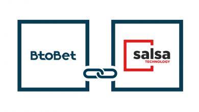Photo of BTOBET cierra acuerdo con SALSA TECHNOLOGY para expandir el contenido del portafolio en Casino vídeo y Bingo