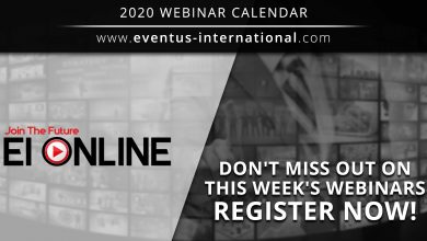 Photo of Eventus International ofrece a sus participantes 02 webinars –  20 y 21 de mayo