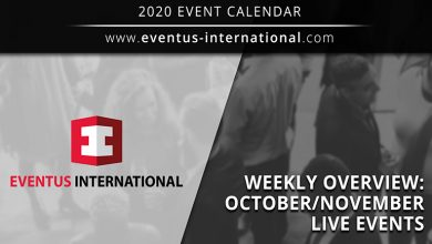 Photo of Calendario de eventos en vivo de Eventus International en octubre y noviembre