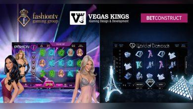 Photo of Vegas Kings desarrolla 2 marcas de tragamonedas exclusivas en asociación con Fashion TV Gaming Group y Betconstruct