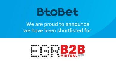Photo of Btobet se encuentra en la lista para tres premios en B2B EGR