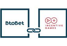 Photo of Btobet se asocia con Incentive Games