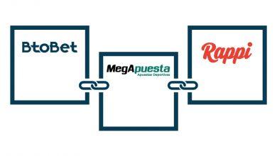 Photo of Btobet y Rappi en conjunto con Megapuesta firman acuerdo de proyecto para ampliar el enfrentamiento deportivo en nuevos canales
