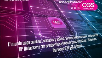 Photo of Experiencia #CGSCloud2020: novedosa tecnología de acceso web, virtual e inmersivo los próximos 27 y 28 de agosto