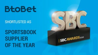 Photo of Btobet finalista en la categoría   «proveedor de apuestas deportivas» de SBC Awards 2020