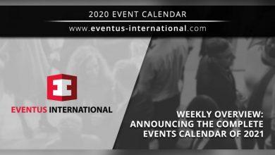 Photo of Eventus International anuncia sus eventos para el 2021