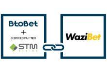 Photo of Btobet y STM Gaming anuncian un acuerdo con Wazibet