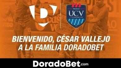 Photo of DoradoBet se convierte en nuevo patrocinador del Club Deportivo Universidad César Vallejo hasta 2022