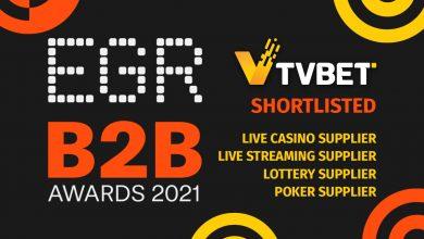 Photo of TVBET ha sido preseleccionado para los Premios EGR B2B Awards 2021 en 4 categorías