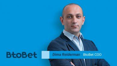 Photo of Dima Reiderman COO de Btobet descata la importancia de las Apuestas Deportivas