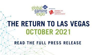 Photo of G2E volverá a Las Vegas en octubre de 2021
