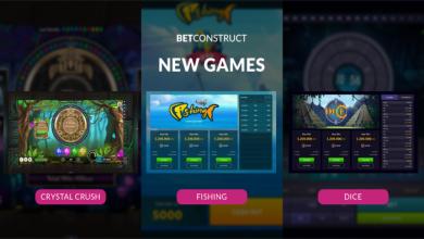 Photo of BetConstruct lanza nuevos juegos RNG Fishing, Dice y Crystal Crush