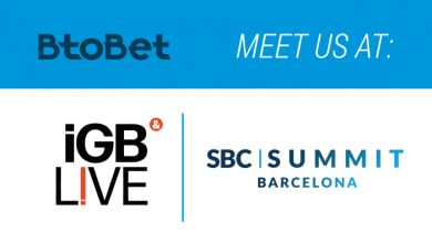 Photo of ¡Btobet participará en las cumbres  de Barcelona e iGB Live!