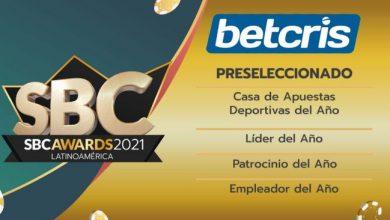 Photo of Betcris preseleccionado en varias categorías para SBC Awards Latinoamérica