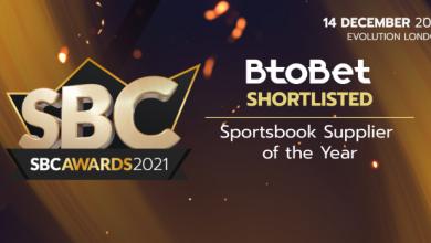 Photo of Btobet preseleccionado en 2 categorías para los prestigiosos premios SBC