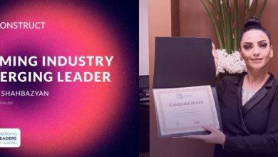 Photo of Anna Shahbazyan de BetConstruct recibe el reconocimiento como uno de los Líderes Emergentes de la Industria del Juego