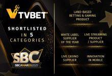 Photo of TVBET obtiene un número récord de nominaciones en los Premios SBC Awards 2021